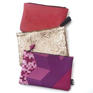 NWOT Ipsy Makeup Bags Bundle
